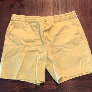 Intro love the fit yellow shorts size 12